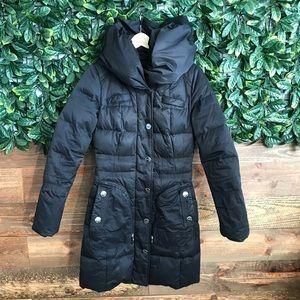 MEXX Black Puffer Jacket -Down duvet & feather UK8